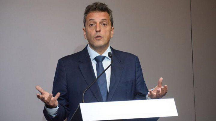 Massa será candidato a diputado nacional por la coalición que lidera la expresidenta Cristina Fernández de Kirchner.
