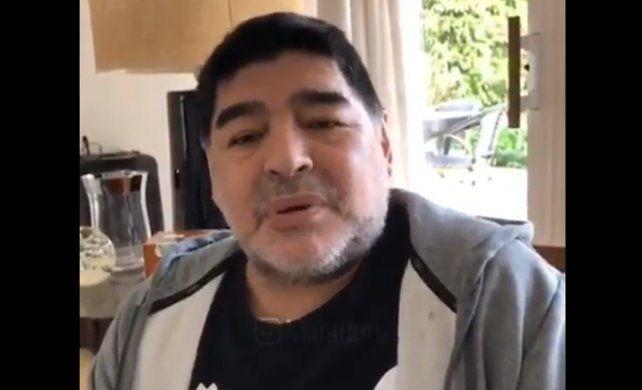 Maradona: No me estoy muriendo
