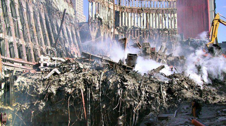 Revelan fotos inéditas del terrorífico 11-S en Nueva York