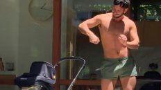 Es furor el bailecito del esposo de Ricky Martin para su hija