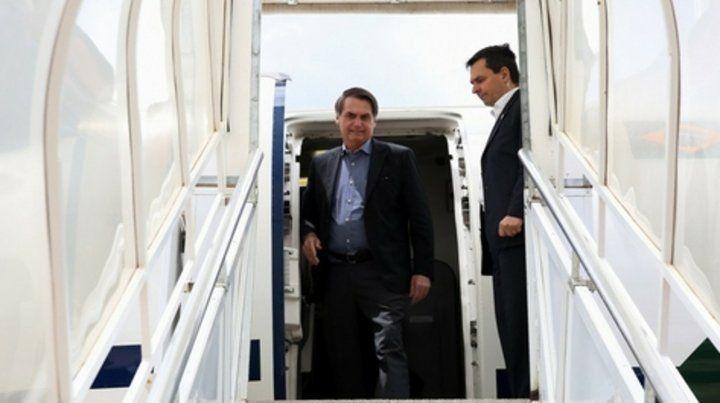 Afectado. El arresto de un suboficial brasileño de la Fuerza Aérea con droga en sus maletas salpica el viaje de Jair Bolsonaro al G20.
