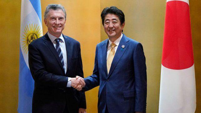 Macri en Japón: Nos gustaría abrir el mercado para arándanos y cerezas