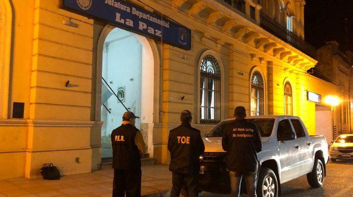 Encontraron en La Paz  la camioneta con la que secuestraron a Lucio Maldonado