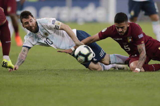Messi se sinceró y dijo que no está haciendo su mejor Copa América