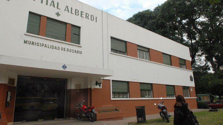 El chico fue traslado al Hospital Alberdi