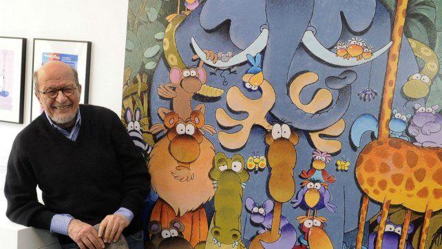 A los 86 años, murió el humorista gráfico argentino Guillermo Mordillo