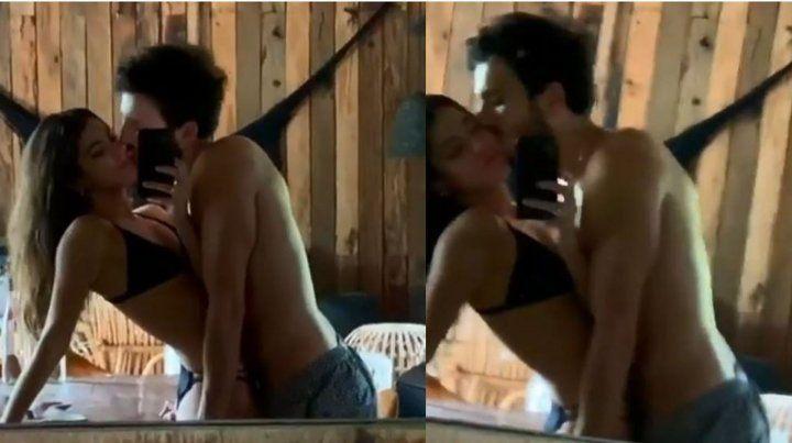 Tini Stoessel borró un video fogoso junto a Sebastián Yatra