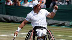 Gustavo Fernández se coronó en Wimbledon en tenis adaptado