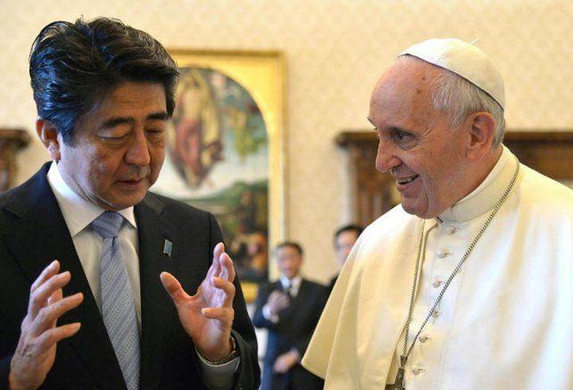 El Papa visitará las ciudades japonesas de Hiroshima y Nagasaki
