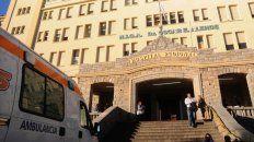 El Hospital Regional de Agudos de Mar del Plata, donde murió el rosarino atacado por pitbulls.