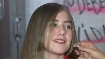 La adolescente de 14 años habló con Telenoche sobre la masacre.