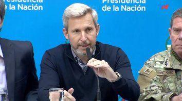 El ministro del Interior, Rogelio Frigerio, garantizó la transparencia de las Paso.