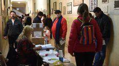 ya voto mas del 30 por ciento del padron nacional
