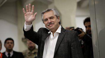 El presidente tendría que estar abocándose a dar tranquilidad a los mercados, dijo Alberto Fernández.