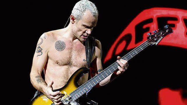 Se viene el libro de Flea, de Red Hot Chili Peppers