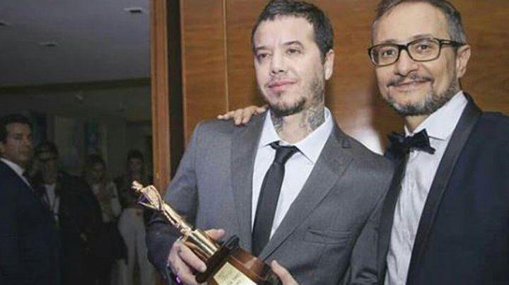 Sebastián Ortega recibió el Martín Fierro de Oro este año por 100 días para enamorarse.