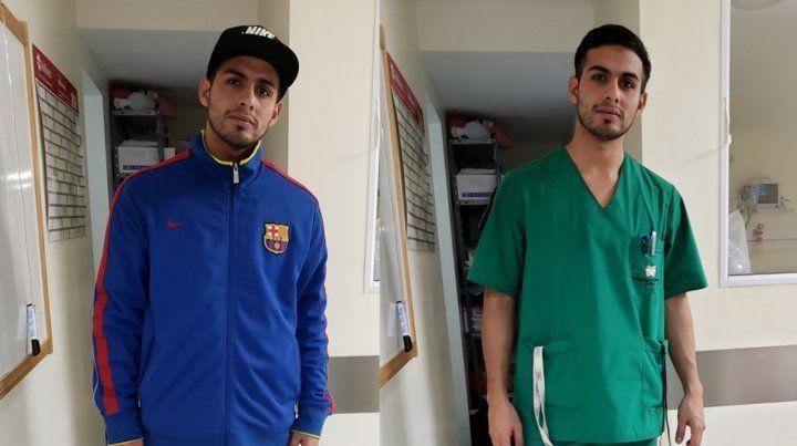 Un enfermero fue discriminado por su vestimenta y su respuesta se viralizó