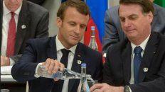 bolsonaro dice que solo aceptara la ayuda del g7 si macron retira sus insultos