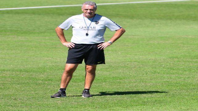 Todavía en formación. El Boca de Alfaro aún necesita consolidarse y tiene una parada chiva en el derby.