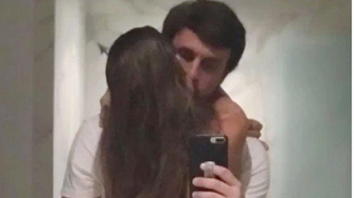 Pampita habló de la foto del beso con su nuevo novio