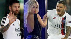 Messi se mete en la interna de Icardi en el PSG