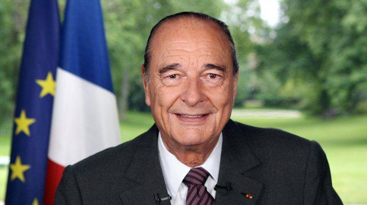 Murió a los 86 años el expresidente de Francia Jacques Chirac
