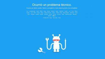 twitter sufre una caida mundial y deja a miles de usuarios sin servicio