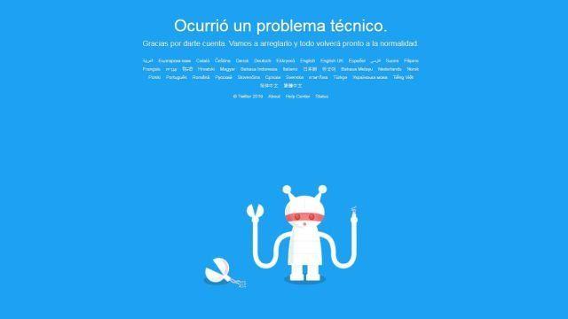 Twitter sufre una caída mundial y deja a miles de usuarios sin servicio