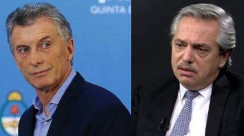 Mauricio Macri y Alberto Fernández, los candidatos que tienen más chances de ganar las elecciones.