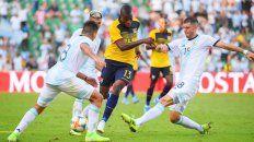 Argentina goleó a un débil Ecuador por 6 a 1