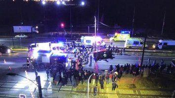 un auto atropello a un grupo de manifestantes en el sur de chile