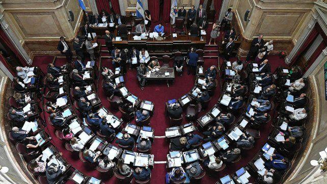 Los resultados de ayer modificaron la conformación del Senado.