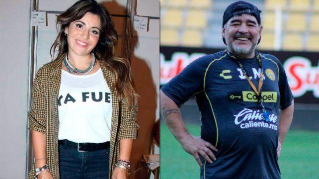 El extraño mensaje de Gianinna Maradona que generó preocupación