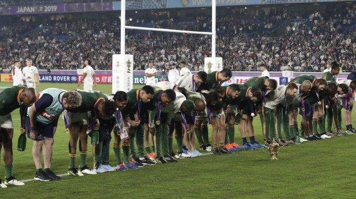 Sudáfrica se coronó campeón del mundo de rugby por tercera vez