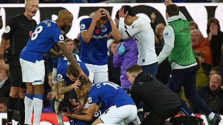 Video: André Gomes sufrió una grave lesión en la Premier League