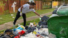 el intendente de funes salio con su gabinete a recolectar la basura