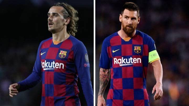 Messi y Griezmann no terminan de congeniar en Barcelona