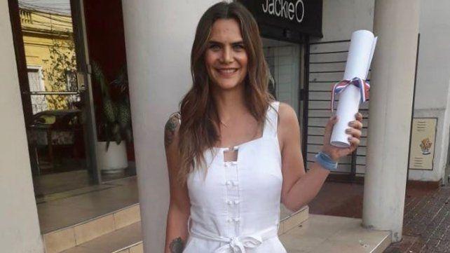 El lunes Amalia Granata recibió el diploma de diputadaelecta por parte del Tribunal Electoral de la Provincia de Santa Fe.
