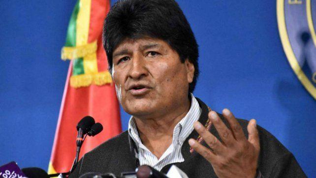 Por irregularidades, Evo Morales convocó a nuevas elecciones
