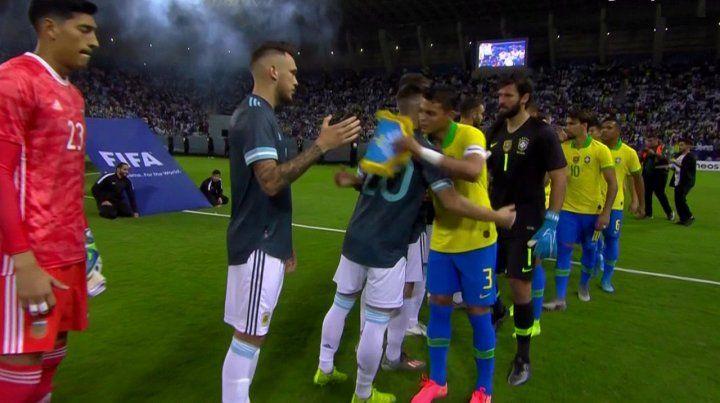 Argentina derrotó a Brasil