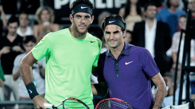 Del Po y Federer iban a jugar un amistoso el 20 de este mes.