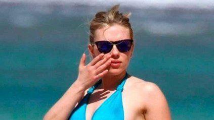 Scarlett Johansson se mostró sin Photoshop y desató la polémica
