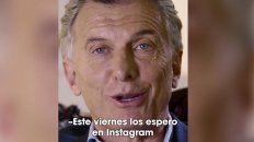 macri convoca a una conversacion a traves de instagram