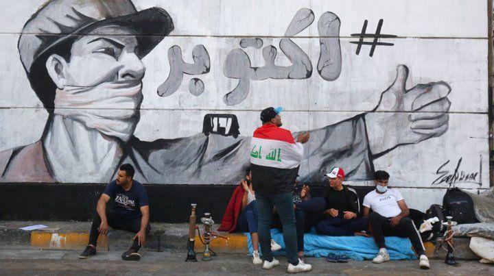 Murales de Baghdad: el arte de la protesta