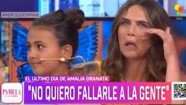 Amalia Granata se despidió de la televisión