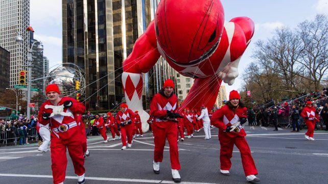 Así fue el desfile del Día de Acción de Gracias de Macys en Nueva York