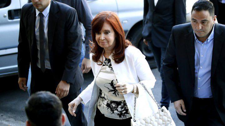 Cristina Fernández aseguró que la absolvió la historia