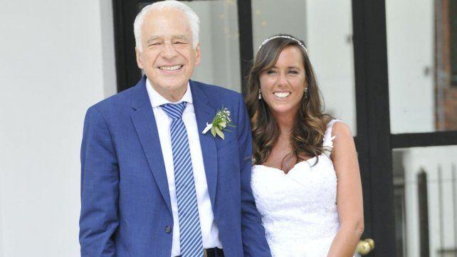 Cormillot se casó con su novia nutricionista de 33 años