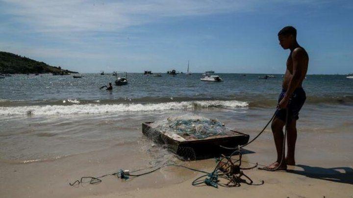 Aparecieron nuevas manchas de petróleo en playas del norte de Brasil