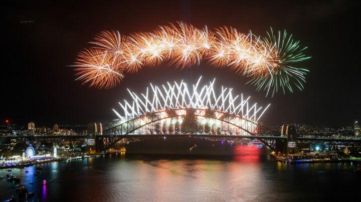 El mundo celebra la llegada del 2020 con fuegos artificiales
